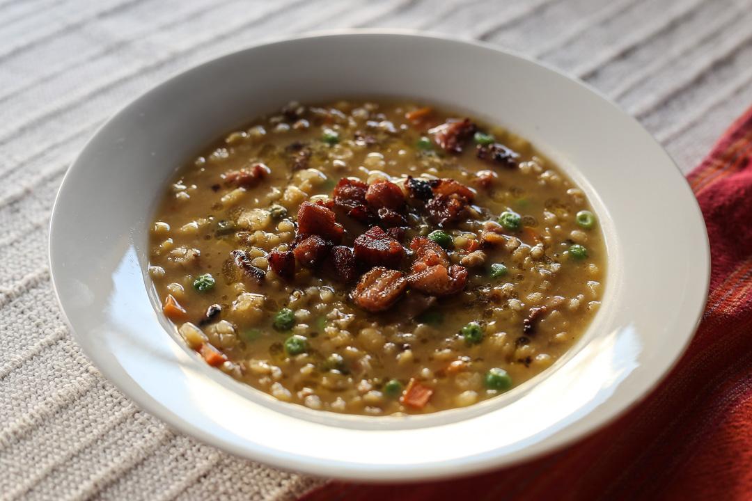 Split Pea Barley Soup Recipe California Pizza Kitchen
