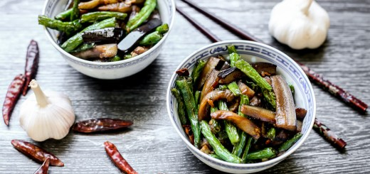 Stir-fried Eggplant and Green Beans 1