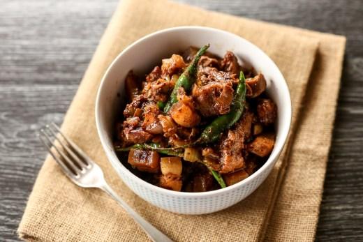Binagoongan (Pork in Fermented Shrimp Paste) 2