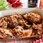 Grilled Paprika Chicken with Chorizo Gravy 2