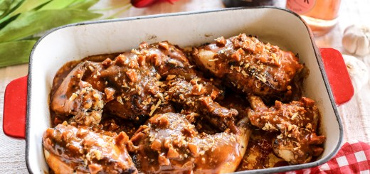 Grilled Paprika Chicken with Chorizo Gravy 2