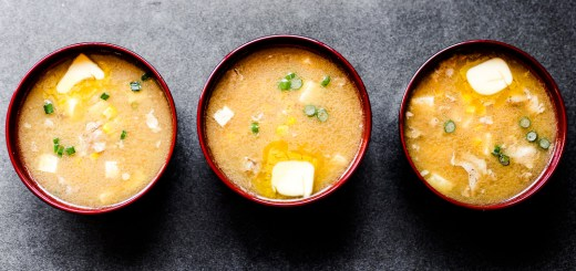 Hokkaido Style Chicken Miso and Corn Soup 1