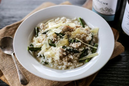 Chicken and Asparagus Risotto 1