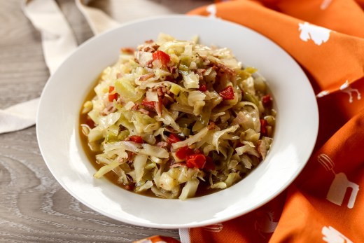 Smothered Cabbage with Bacon 1