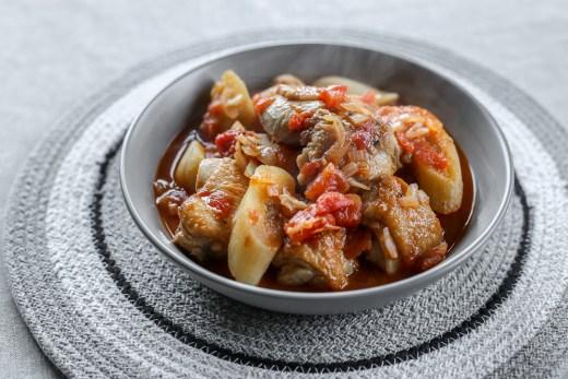 Chicken and Plantain Stew 1