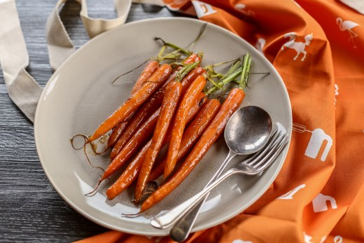 Glazed Carrots 1