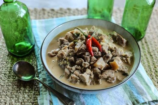 Bicol Express (Chilli and Pork in Coconut Gravy) 2