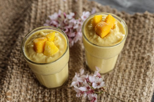 Mango and Apricot Lassi 2