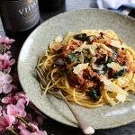 Pasta with Braised Pork, Red Wine and Pancetta 1