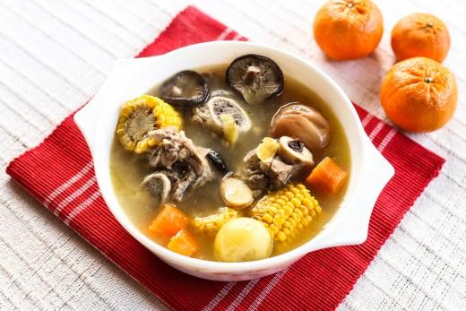 Chinese Pork Bone Vegetable Soup 1