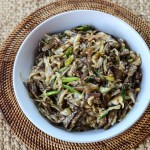 Cabbage and Beef Stir Fry 1