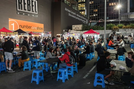 Auckland CBD Night Market 2
