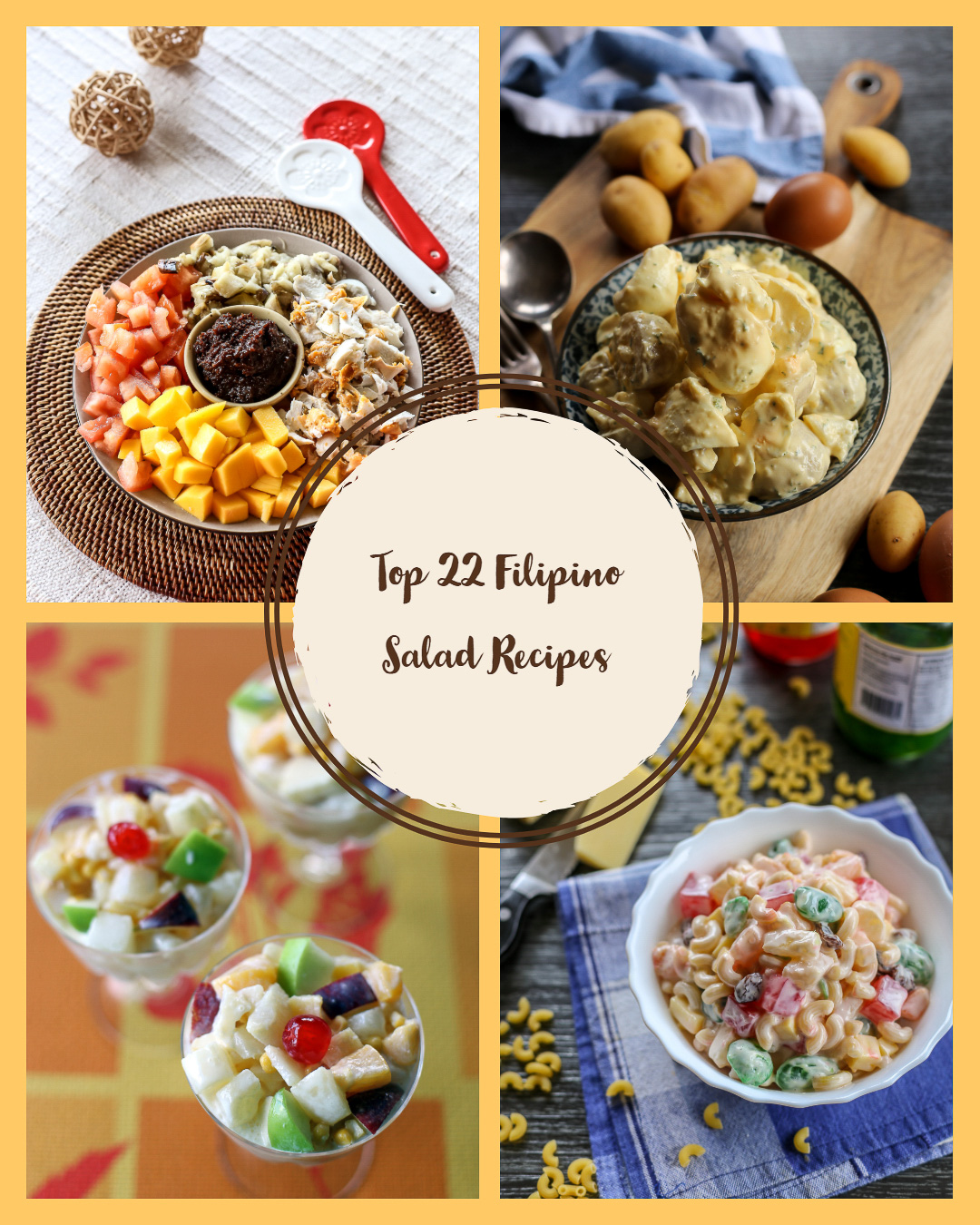Top 22 Filipino Salad Recipes - Ang Sarap