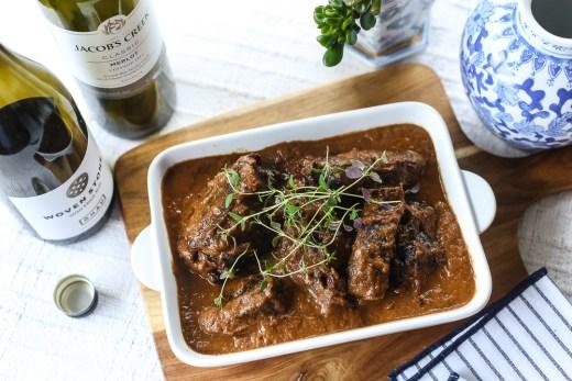 Beef Cheeks in Red Wine Casserole 1