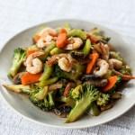 Broccoli and Prawn Sambal Stir Fry 1