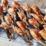 Grilled Salmon Fins 2