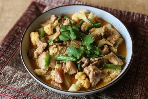 Malaysian Pork & Cauliflower Curry 1