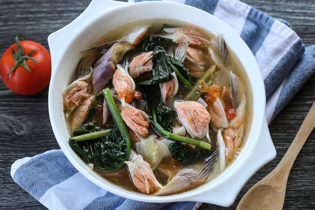 Sinigang Na Salmon Belly Ang Sarap