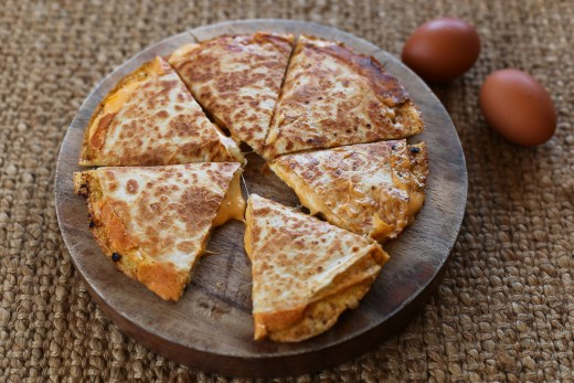 Breakfast Quesadilla 1