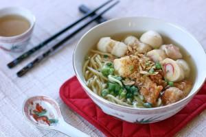 Fishball Noodle Soup Ang Sarap