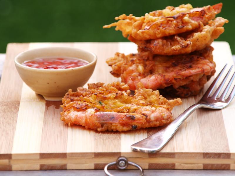 Ukoy (Shrimp Fritters) - Ang Sarap