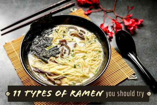 11 Types of Ramen you should try 1