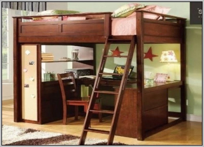 Full Loft Bed With Desk Costco Download Page Home Design