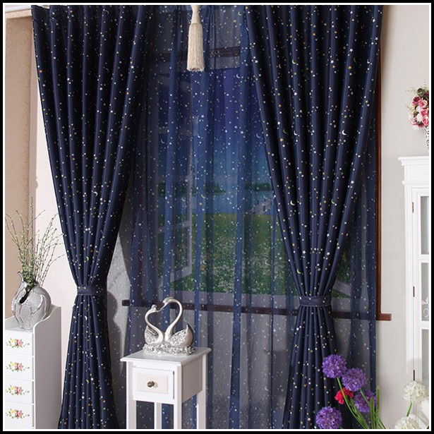 Navy Blue Sheer Curtain Panels Curtains Home Design