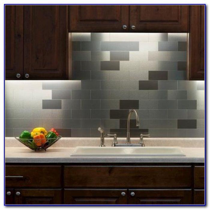 Peel And Stick Metal Tiles Tiles Home Design Ideas