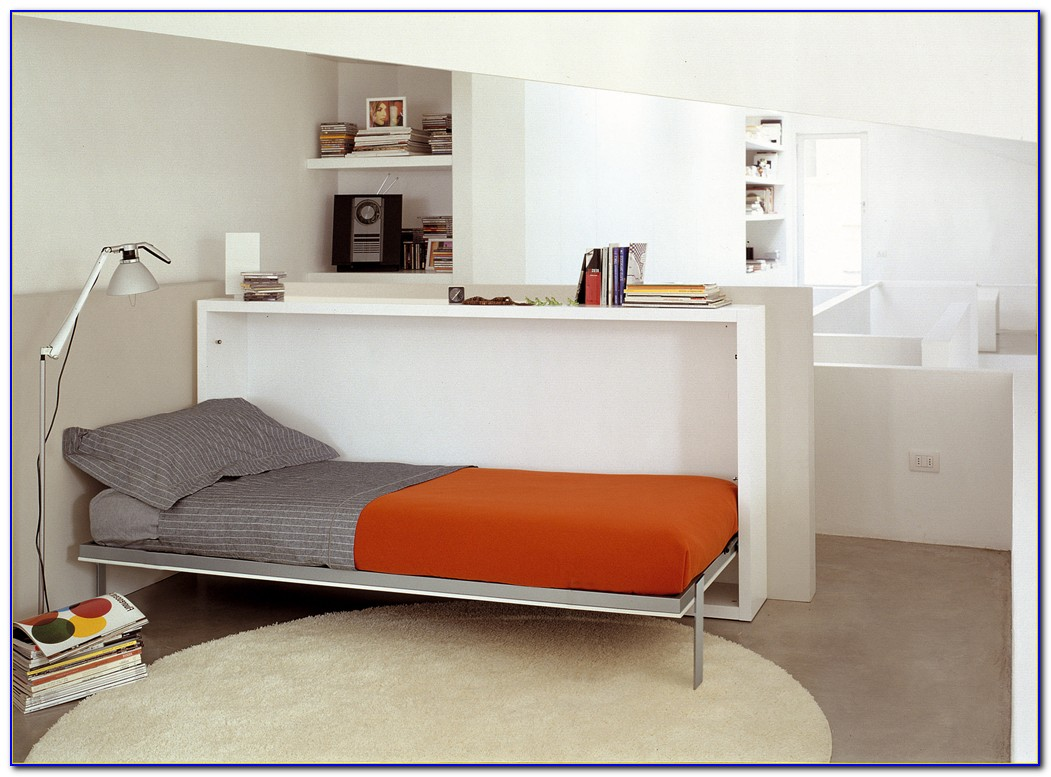 Twin Size Murphy Bed With Desk Desk Home Design Ideas