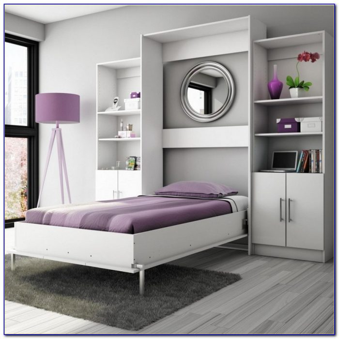 Wall Bed And Desk Combo Desk Home Design Ideas
