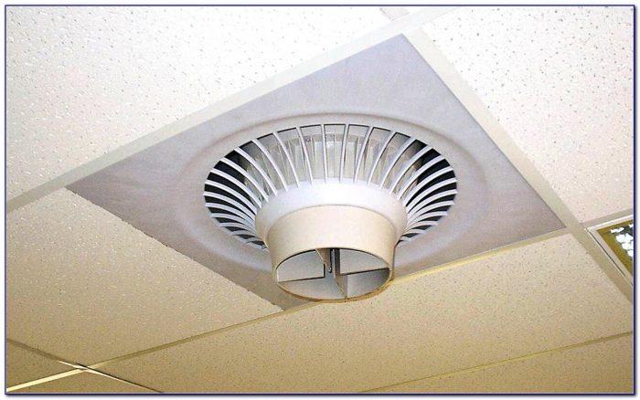 Drop Ceiling Tile Exhaust Fan Ceiling Home Design