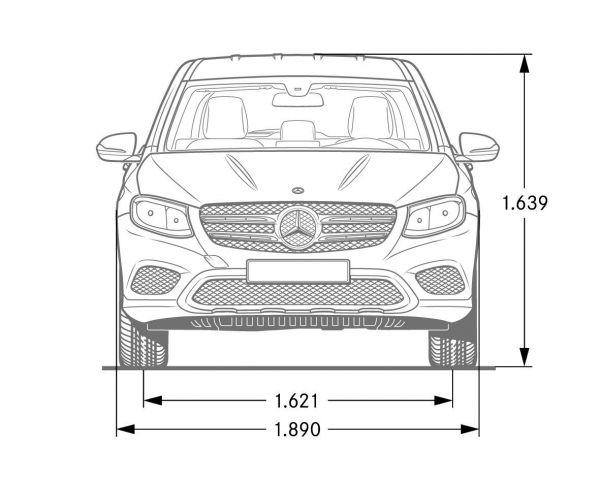 Mercedes Benz GLC Abmessungen Amp Technische Daten Lnge