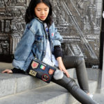 :: Outfit – Patches, Leather & Love Moschino Bag