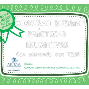2ª Edición del Concurso de buenas prácticas educativas, Premio a Mi mejor Profe