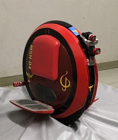 シャア専用電動一輪車