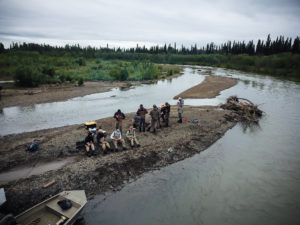 Feasting on the Aniak River