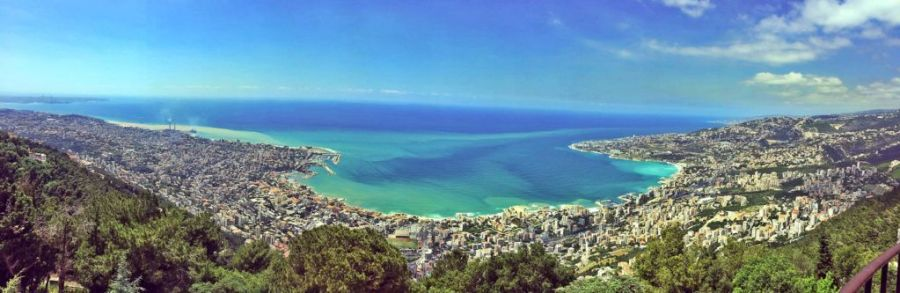 The panoramic views of Jounieh from Harissa are incredible!