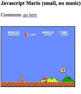 Mario en Javascript