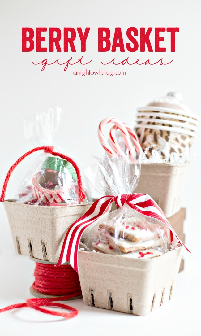 Easy Berry Basket Gift Ideas A Night Owl Blog
