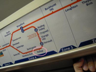 fairlop parada metro londres