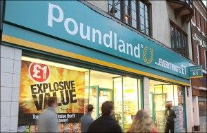 ahorrar poundland barato londres