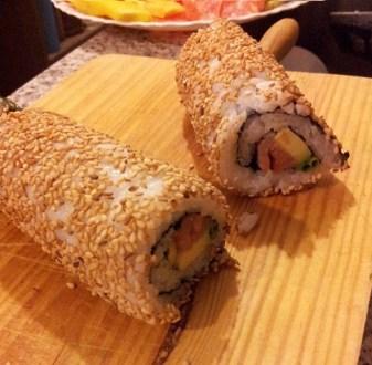 sushi california roll en casa como hacer