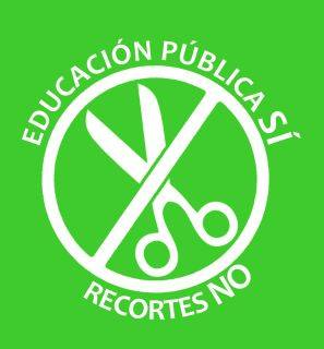 educación pública sí, recortes no