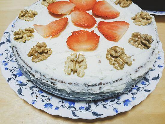Carrot cake con mascarpone, la receta definitiva