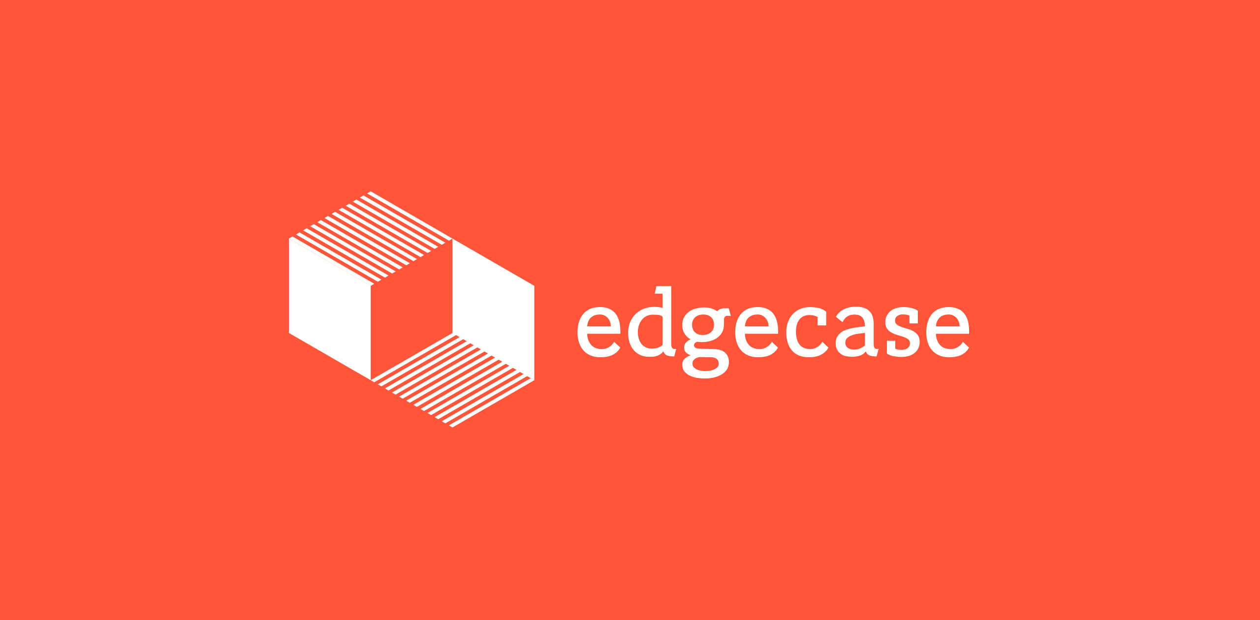 edgecase logo one color