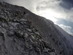 Peak Uchitel zirvesine yükselirken