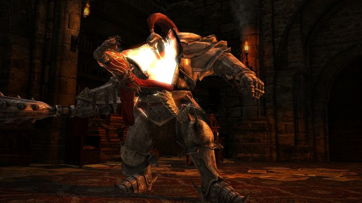 Castlevania: Lords of Shadow presenta un estilo de combate tipo God of War.