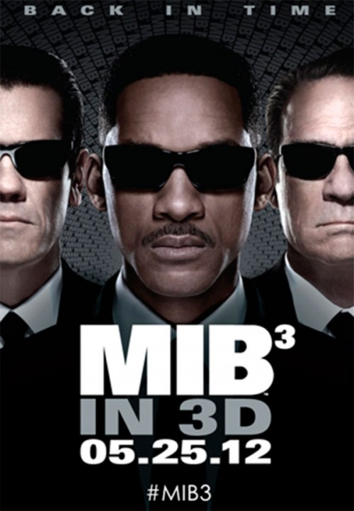 Lanzan primer póster de Men in Black 3