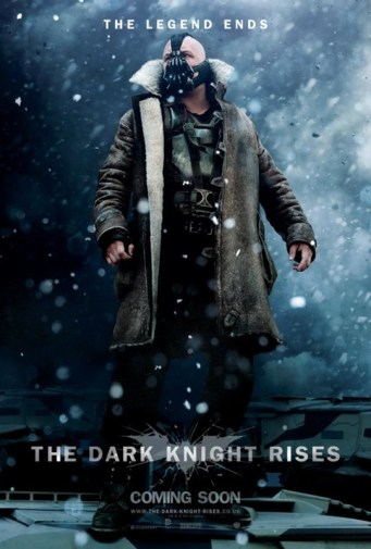 Tres nuevos pósters de The Dark Knight Rises | Bane 2